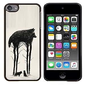"""S-type Árboles Resumen Significado Naturaleza"""" - Arte & diseño plástico duro Fundas Cover Cubre Hard Case Cover For Apple iPod Touch 6 6th Touch6"""