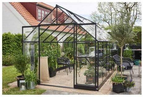 Invernadero de cristal templado Qube+ 816-13 m2 F09864-F06445 ...