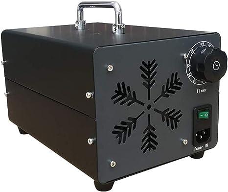 YLEI Generador De Ozono Comercial, ozonizador, 10000 MG/H Industrial Ozon Purificador De Aire, Ozonisator con Temporizador para Habitaciones, Humo, Coches Y Animales Domésticos: Amazon.es: Deportes y aire libre
