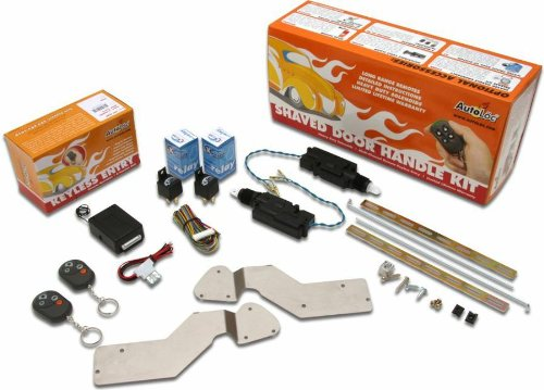 Autoloc 431119 Bolt-On Shave Door Kit for GM Cars and Tru...