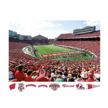 NCAA Wisconsin Badgers Camp Randall Stadium Mural Wall Graphic
