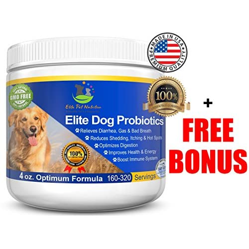 Advanced Probiotic For Dogs Elite Dog Probiotics Powder By Elite Pet Nutrition Veterinarian Recommended