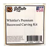 Whittlers Premium Basswood Carving Blocks Kit - Best Whittling Kit for Kids - Preferred Soft Wood Block sizes included - Made in the USA