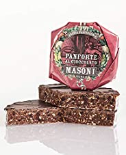 Masoni Chocolate Panforte, Panforte al Cioccolate, 450g Toscana Tuscany Made in Italy