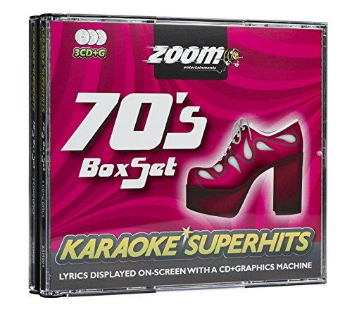 Zoom Karaoke CD+G - 70s Superhits - Triple CD+G Karaoke Pack (Karaoke 70s)