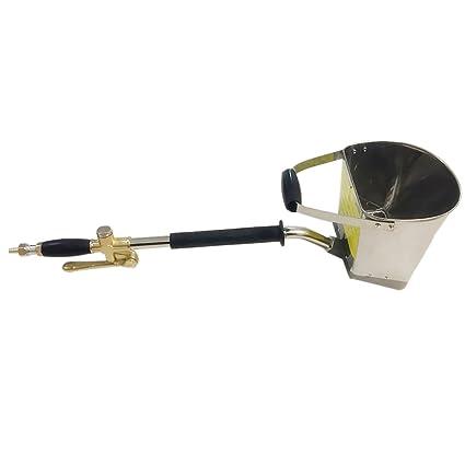 D DOLITY Cemento Mortero Pulverizador Pistola 4-Jet Instrumentos para Pintar en Pared - A