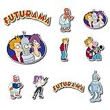 zoidberg decal - Futurama Set Sticker Philip J. Fry, Leela, Bender and Zoidberg Pack Cartoon Decal for Car Window, Bumper, Laptop, Skateboard, Wall, ETC. Set-080