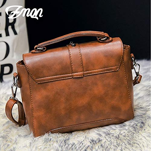 Amazon.com  ZMQN Crossbody Bags for Women Messenger Bags 2018 Vintage  Leather Bags Handbags Women Rivet Small Shoulder Sac A522  Home   Kitchen b20d24d6ad282