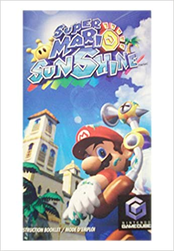 Super Mario Sunshine Instruction Booklet Nintendo Gamecube