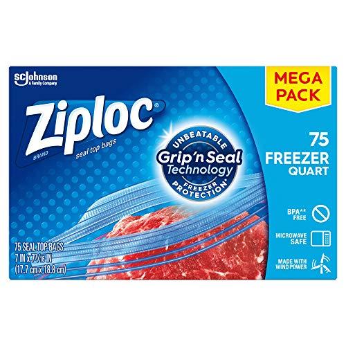 Ziploc Freezer Bags Double