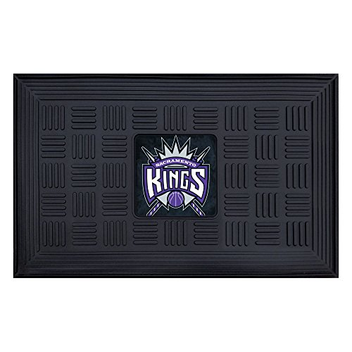 Fanmats 11425 NBA Sacramento Kings Vinyl Medallion Door ()