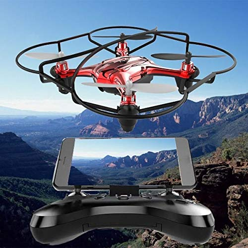era Drone with Camera HD 4k Mini Drone RC Quadcopter FVP WiFi with Wide Angle HD High Headless Altitude Hold Mode 4CH - by TINIX - 1 PCs ()