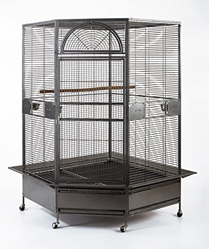Flyline Parrot Escape Jumbo Corner Bird Cage Aviary (X-la...