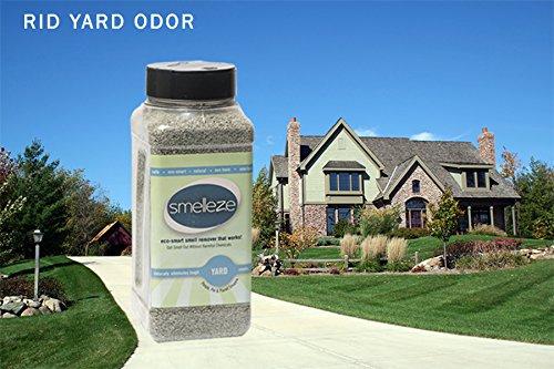 SMELLEZE-Natural-Yard-Odor-Remover-Deodorizer-2-lb-Granules-Eliminates-Outdoor-Smell