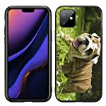 Happy English Bulldog Puppy for iPhone 11 6.1 2019 Case Cover by Atomic Market 3
