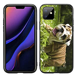 Happy English Bulldog Puppy for iPhone 11 6.1 2019 Case Cover by Atomic Market 11