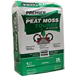 Premier 0280P Pro Moss Horticulture Retail Peat Moss, 1 Cubic Feet