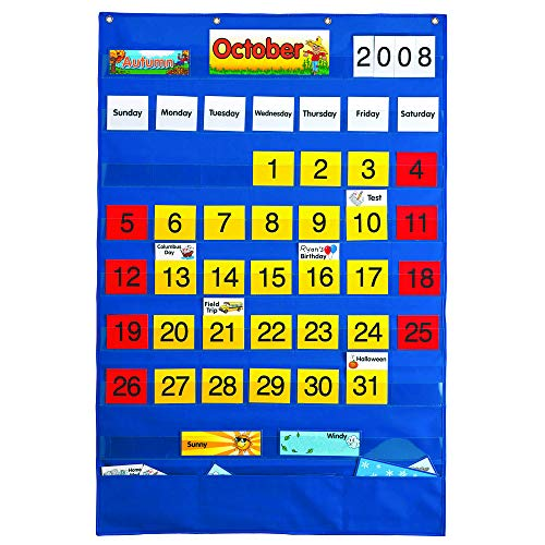 (Lauri Calendar Pocket Chart (English/Spanish))