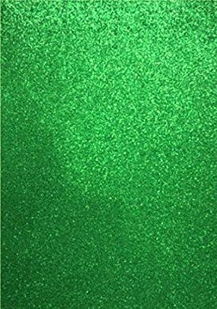 1 Bogen Glitzer-Moosgummi 5 verschiedene Farben zur Wahl