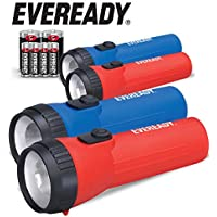 4-Pack Eveready Bright LED Flashlight (Batteries Included)