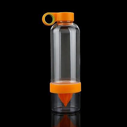 Huihong 800 ML plástico Botella de Agua: Botella, Exprimidor & Hierbas, ácido (