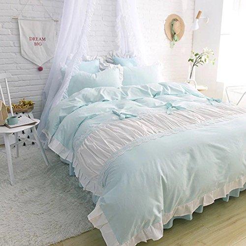 レース100%棉 姫系 かわいい寝具カバーセット (セミダブル) B07BF53QB1 セミダブル セミダブル