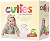 Baby : Cuties Complete Care Baby Diapers, Size 3, 180 Count