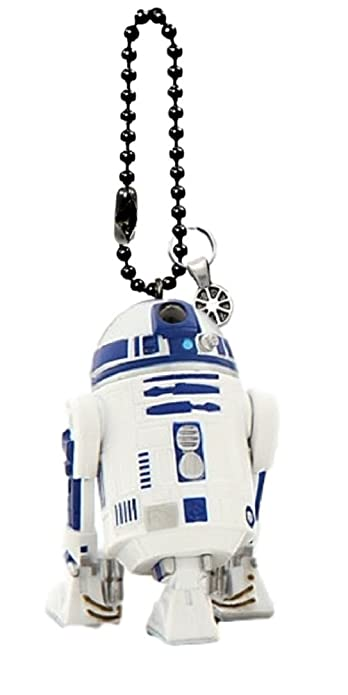 Amazon.com: Disney de Star Wars R2-D2 Llavero/Dangler: Shoes