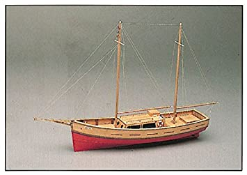Capri Mediterranean Style Motor Yacht Wooden Model Ship Kit