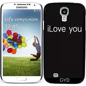 Funda para Samsung Galaxy S4 (GT-I9500/GT-I9505) - Te Amo by wamdesign