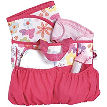 this item adora baby doll diaper bag accessories with 5piece changing set - Baby Diaper Bags