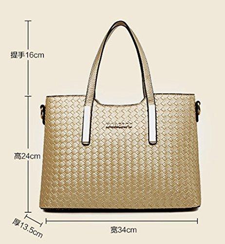 Keshi Pu neuer Stil Damen Handtaschen, Hobo-Bags, Schultertaschen, Beutel, Beuteltaschen, Trend-Bags, Velours, Veloursleder, Wildleder, Tasche Tiefblau