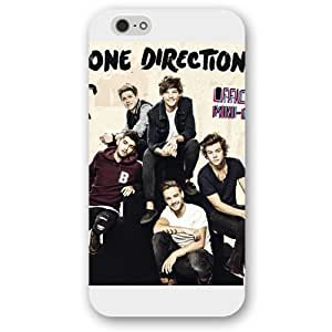 UniqueBox Customized White Frosted One Direction(1D) iPhone 6 4.7 Case, Only fit iPhone 6 4.7""