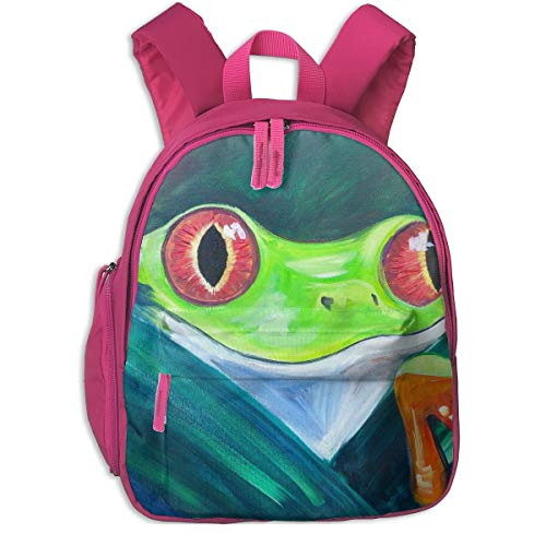 Cycling Hiking Backpack Tree Frog Student Backpack,Packable Lightweight Travel Backpack Daypack Camping Outdoor Bag