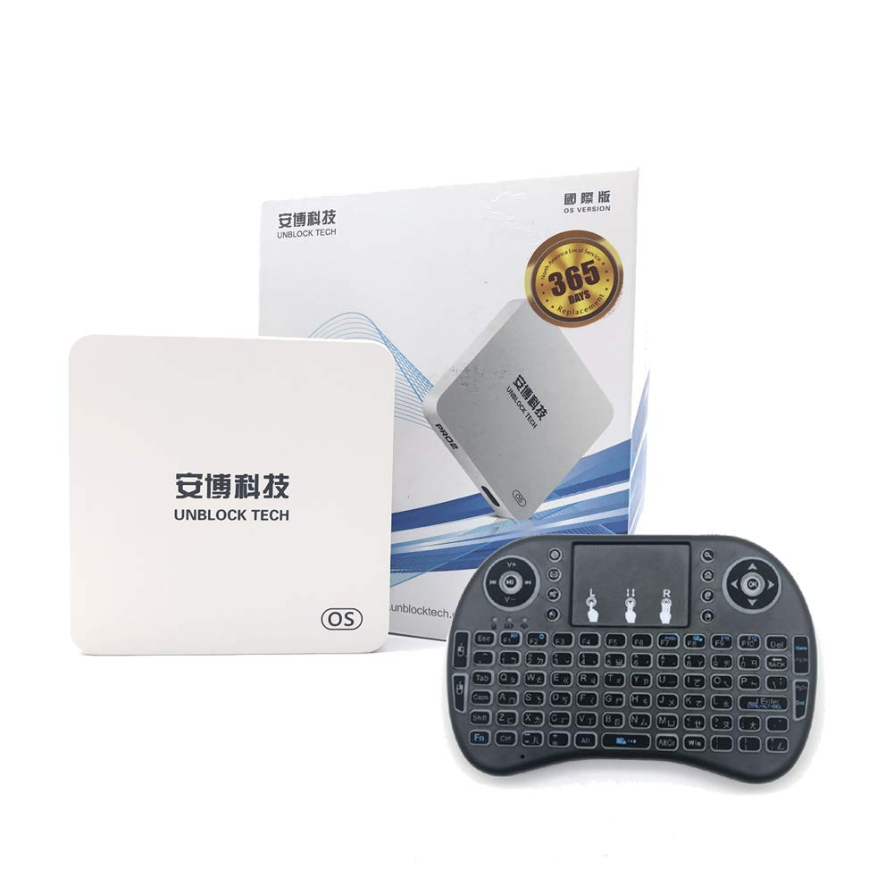 Unblock 2019 Latest unblock tech Root Unrestricted Edition of China Mainland app GEN6 PRO2 Box Contain Surprise Accessories