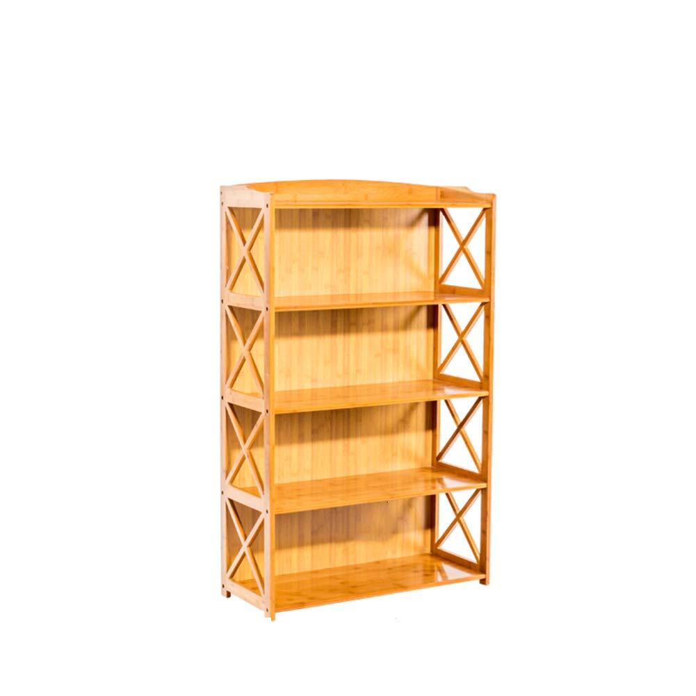 KELE Multi-Strato Moderna Decor Scaffale, Aperto Display Rack di stoccaggio Soggiorno Ufficio Librerie Mobili Legno scaffale Porta Piante-I 70X29X110cm