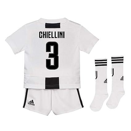 5d6c07493d8 Amazon.com   UKSoccershop 2018-19 Juventus Home Mini Kit (Giorgio ...