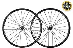 Model: 29er MTB Wheelset  Finish: UD Matte  Rim Depth: 25mm  Rim Width: 30mm  Rim Type: Hookless  Cassette Body: Shimano Body  Spoke Holes: Front 28 holes + Rear 28 holes  Hub: Mountain Disc Brake M6 Hub Black  Type of Hub: Six Bolt  O.L.D: ...