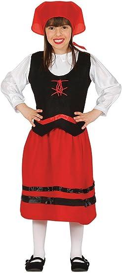 Guirca- Disfraz infantil de pastorcita, Color rojo, 3-4 años ...