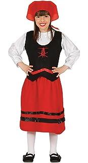 Disfraz de Pastora niña infantil para Navidad 4-6 años ...