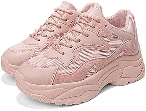 Zapatillas Deportivos Mujer Running Zapatos De Plataforma Fondo ...
