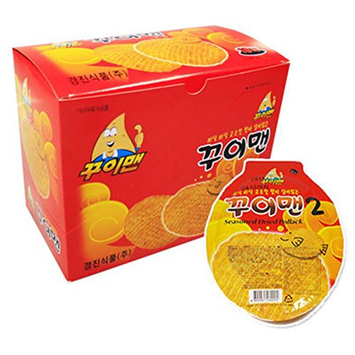 Jelly Splash Costume ([Kui Man]Delicious Korean Jelly, Dried Filefish, Fish Sweets, Korea Snack, Beer Stew, Kids Snack 1Boxes (10Packs))