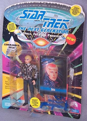 Star Trek The Next Generation Sela in Romulan Uniform 4 inch Action Figure -