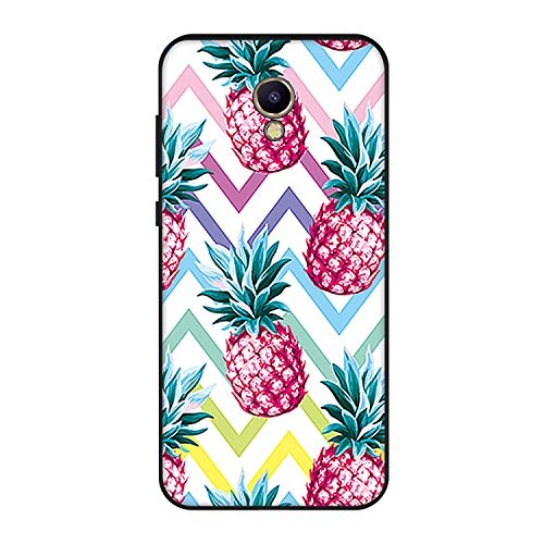 Juvenile Form - Soft TPU Phone Case Capa for Meizu M6 M5C M5S Animals Back Cover Shell for Meizu M5 M6 Note Flower Pattern Case,09,Form EI Group m5S