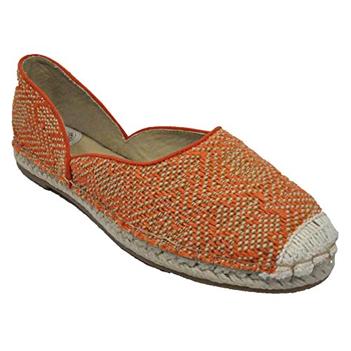 Gee Wawa Footwear Women's Pixie Orange 8 M