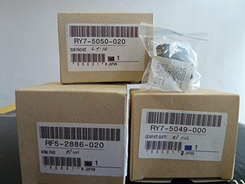 HP Laser Jet 1100 Paper Pick Up Roller + Lower Pressure Roller + Arm Pad + Sub Pad Kit + Gear Kit SALE Paper Pickup Roller Gear