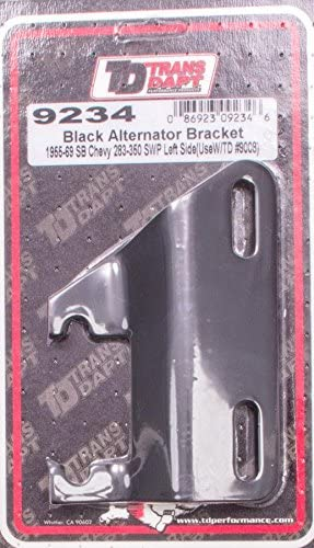 Trans-Dapt 9234 Black Left-Side Alternator/Generator Bracket
