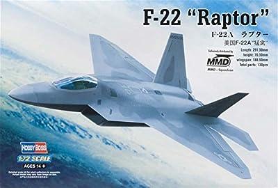 Hobby Boss F-22 Raptor Jet Fighter Airplane Model Building Kit