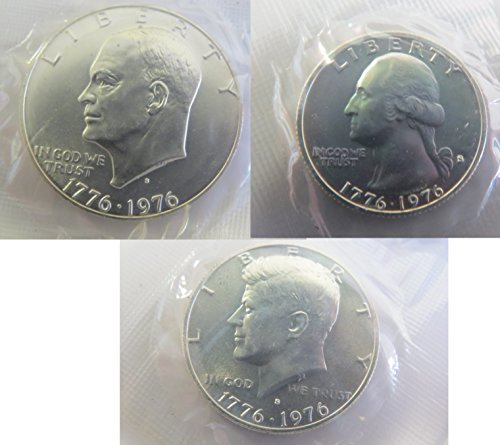 1976 S Mint Set Perfect (1776 1976 Dollar Coins)