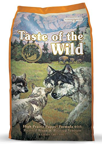Taste of the Wild High Prairie Puppy Formula with Bison a...